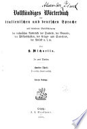 Dizionario complete italiano tedesco e tedesco italiano