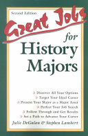 Great Jobs for History Majors