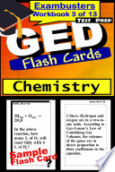 GED Test Prep Chemistry Review  Exambusters Flash Cards  Workbook 3 of 13