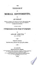 The theory of moral sentiments     The eleventh edition  etc