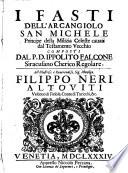 I fasti dell'Arcangiolo San Michele, principe della milizia celeste cavati dal testamento vecchio