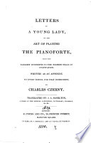 Letters to a young lady on the art of playing the pianoforte  tr  by J A  Hamilton