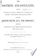 The Doctrine and Covenants of the Church of Jesus Christ of Latter day Saints Book PDF