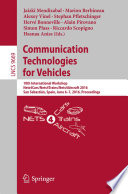 Communication Technologies for Vehicles