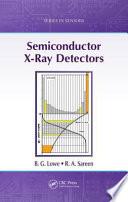 Semiconductor X Ray Detectors