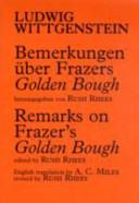 Bemerkungen   ber Frazers Golden Bough