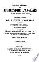 Nouvelle m  thode pour apprendre l anglais     contenant l histoire de Rasselas
