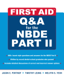 First Aid Q A for the NBDE