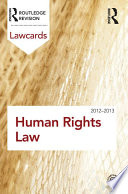 Human Rights Lawcards 2012 2013
