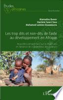 Les trop dits et non-dits de l'aide au développement en Afrique