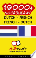 19000  Dutch   French French   Dutch Vocabulary