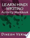 Learn Hindi Writing Activity Workbook