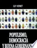 Populismo, democracia y buena gobernanza
