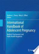 International Handbook of Adolescent Pregnancy