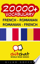 20000  French   Romanian Romanian   French Vocabulary