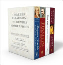 Book Walter Isaacson  The Genius Biographies