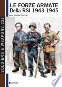 Le forze armate della RSI 1943 1945