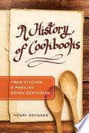 A History Of Cookbooks book