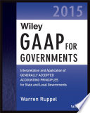 Wiley GAAP for Governments 2015