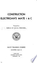 Construction Electrician S Mate 1 C