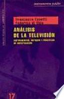Análisis de la televisión