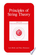 Principles of String Theory