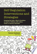 Self Regulation Interventions and Strategies
