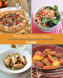 Weeknight Meals in a Hurry The Monday through Friday Eat-Well Cookbook Series