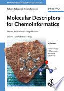 Molecular Descriptors for Chemoinformatics  Volume 41  2 Volume Set