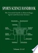Sports Science Handbook: I-Z PDF