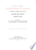 Five years  explorations at Thebes