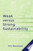 Weak Versus Strong Sustainability
