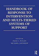 Handbook Of Response To Intervention And Multi Tiered Instruction