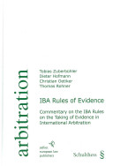 IBA Rules of Evidence