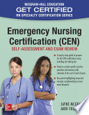 Emergency Nursing Certification  CEN   Self Assessment and Exam Review