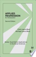 Applied Regression