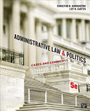 Administrative Law and Politics
