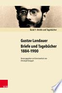 Briefe und Tagebücher 1884–1900