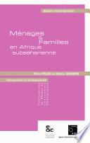 illustration du livre Ménages et familles en Afrique subsaharienne