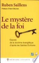 Le mystère de la foi