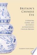 Britain s Chinese Eye