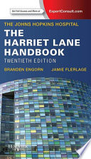 The Harriet Lane Handbook E Book book