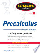 Schaum s Outline of PreCalculus  2nd Ed