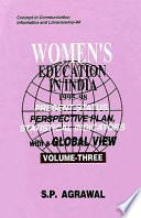 illustration Women's Education in India, 1995-98, Present Status, Perspective Plan, Statistical Indicators with a Global View