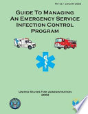 Guide to Managing an Emergency Service Infection Control Program