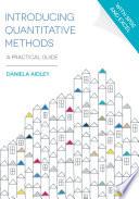 Introducing Quantitative Methods