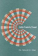 Active Control Of Sound book