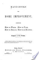 Hand-books for Home Improvement
