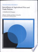 Surveillance of Agricultural Price and Trade Policies