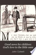 Good news for children  God s love to the little ones